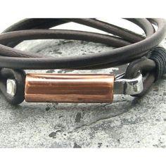 #leather #bracelets #fathersday www.bonanza.com/booths/Atelye