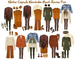 """Winter Capsule Wardrobe Must-Haves: Five"" by jeaninebyers on Polyvore"