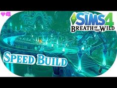 SIDON APPROVES!! ▲ Zora's Domain Speedbuild ▲ The Sims 4 BOTW Challenge #4 - YouTube The Sims 4 Lots, Sims 4 Challenges, Legend Of Zelda Breath, The Sims4, Breath Of The Wild, 8 Bit, Social Media, Songs, Adventure