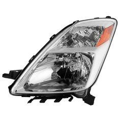 2004 2005 2006 Toyota Prius Halogen Type Headlights Replacement Headlamps Driver Side 04 05 06 8117047070,TO2502159, Silver