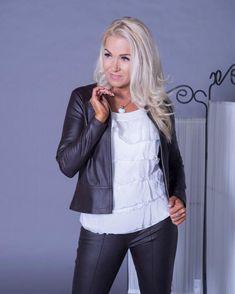 Tekstiilinahkainen  jakku Musta