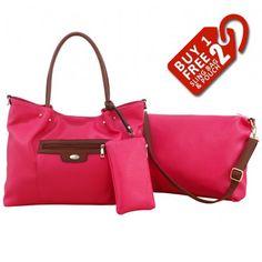 Alfio Young Fiona Pink Handbag