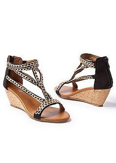 27c044e890c8c Women s Chain detail sandal Shoes Heels Wedges