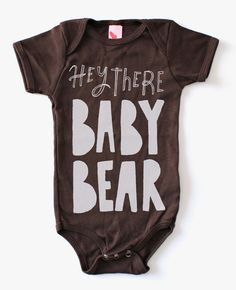 Get your kid a head-start on lookin' cool with this screenprinted infant bodysuit. Made with water-based inks and soft cotton, this bodysuit is easy to put on and take off, even with those moving-every-which-way baby legs.