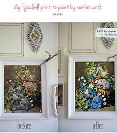 Revamp ugly paintings