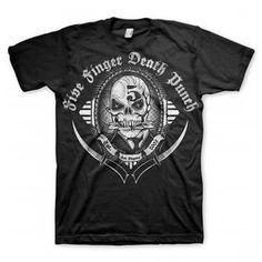 Five Finger Death Punch Get Cut Band Shirt by TheTreasuredHippie, $20.00