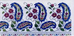 This Pin was discovered by Wan Mini Cross Stitch, Cross Stitch Borders, Cross Stitch Flowers, Cross Stitch Designs, Cross Stitching, Cross Stitch Embroidery, Embroidery Patterns, Hand Embroidery, Cross Stitch Patterns