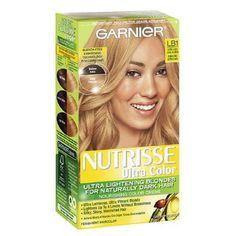 Garnier Nutrisse Ultra Color in LB1 Ultra Light Cool Blonde