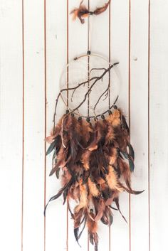 Large Dream catcher Brown dream catcher by MysteriousForests