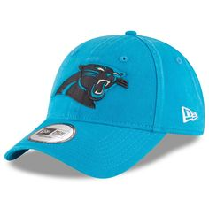 Men s Carolina Panthers New Era Blue NE Core Fit 49FORTY Fitted Hat 67091b28d