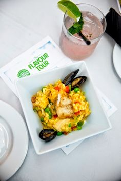 """""""Flavor Tour"""" Recipes From Camana Bay Restaurants in Grand Cayman. An incredible… National Dish, Tropical, Grand Cayman, Great Restaurants, Cayman Islands, Caribbean, Tours, Stuffed Peppers, Wednesday"""