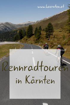 Kärnten ist ein wahres Radparadies. Strecken, wie die Großglockner Hochalpenstraße, die Nockalmstraße oder die Villacher Alpenstraße sind sehr beliebt. Wenn du gerne mit dem Rennrad unterwegs bist, findest du hier die schönsten Radtouren mit vielen Geheimtipps. #Kärnten #Rennrad #Rennradtouren #Nockalmstraße #Radtouren #Sport #Radfahren