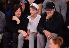 Norman Reedus, Mingus Reedus and Jimmy Smits