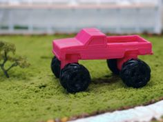 Pickup Truck by GE - Thingiverse