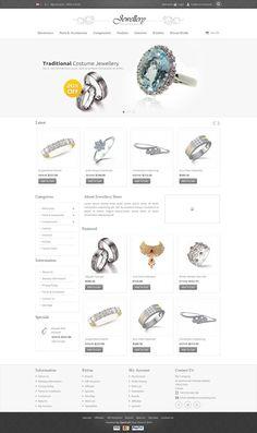 OPC070159 - Responsive Jewellery Store #OpenCart Template http://www.themesandmods.com/opencart/opc070159-jewellery-store/