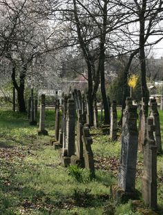 Something about old cemeteries, they just draw me in. Cemetery Headstones, Old Cemeteries, Cemetery Art, Graveyards, Monuments, Post Mortem, Gothic, Peaceful Places, Old Stone