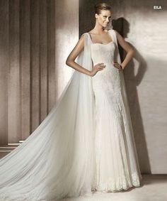 Robe de mariée Pronovias Manuel Mota 2012 modèle Eila  Robes de ...