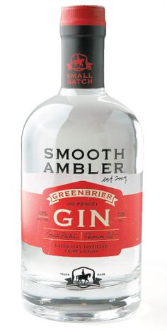 Smooth Ambler Greenbrier Gin is, hands-down, the best gin I've ever, ever had. Deserves every award it has ever won.