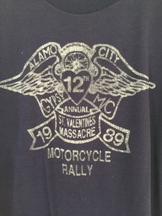 VINTAGE Gypsy M.C. rare motorcycle t shirt tee BIKER  RARE and incredible old Gypsy Motorcycle Club t-shirt from their famous St.