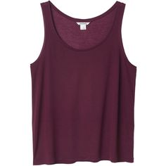 Monki Aida singlet ($4.75) ❤ liked on Polyvore featuring tops, shirts, tank tops, tanks, merlot magic, shirt top, rayon tank, purple tank top, purple shirt and viscose tops
