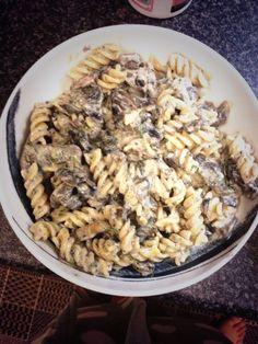 Slimming world mushroom pasta