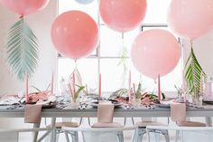 Tropical pastel baby shower | Wedding & Party Ideas | 100 Layer Cake