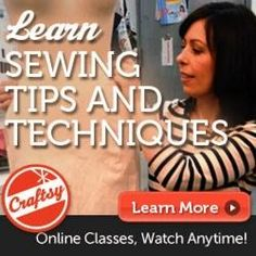 Sewing Tutorials For Beginners - Parts 1 & 2