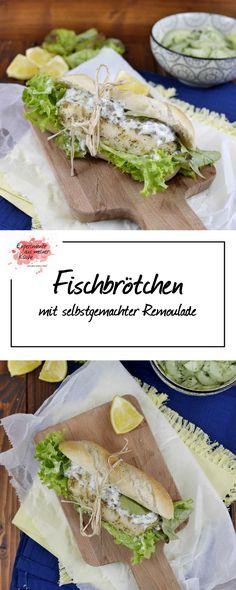 Fischbrötchen mit selbstgemachter Remoulade | Kochen | Rezept | Weight Watchers