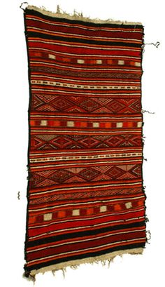 Africa | Berber carpet from southern Tunisia. Wool | 20th century