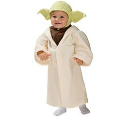 Star Wars Yoda Toddler Costume, Yoda is responsible for training Luke Skywalker in the ways of the Jedi. Look at me. This Star Wars Yoda kid costume includes a character headpiece and h. Baby Halloween Costumes For Boys, Boy Costumes, Halloween Kids, Costume Ideas, Infant Costumes, Infant Halloween, Halloween Sale, Halloween Parties, Creepy Halloween