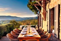 If he hasn't booked his summer trip yet, help dad out with an unexpected summer vacation idea, like a stay at the Villa Spinal-Termine in Umbria, Italy.