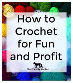 Making Money with Crochet An in depth series on how you can make some money with your favorite hobby! All the questions I get asked-answered! Everything you need to know to get started. The post Making Money with Crochet appeared first on Crochet ideas. Crochet Projects To Sell, Crochet Crafts, Crochet Toys, Crafts To Sell, Free Crochet, Sewing Projects, Selling Crafts, Crochet Tutorials, Crochet Animals