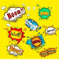 Buy Comic Speech Bubbles by yayasya on GraphicRiver. This vector is saved in with color space in RGB. Also there AI Illustrator format. Eagle Cartoon, Farm Cartoon, Cartoon Fish, Cartoon Books, Happy Cartoon, Cartoon Faces, Cartoon Drawings, Cartoon Illustrations, Vector Pop