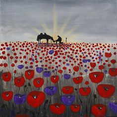 Remembrance Day Activities, Remembrance Day Poppy, Remembrance Day Posters, Anzac Soldiers, Poppy Craft, Original Artwork, Original Paintings, Purple Poppies, Anzac Day