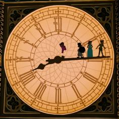 Time with Peter Pan Disney Love, Disney Magic, Disney Art, Peter Pan And Tinkerbell, Peter Pan Disney, Desenho Peter Pan, Peter Pan Party, Disney Aesthetic, Disney Films