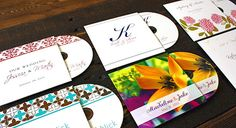 Wedding Monogram on CD Covers 1