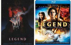 Epic LEGEND poster. Epic DVD art fail.