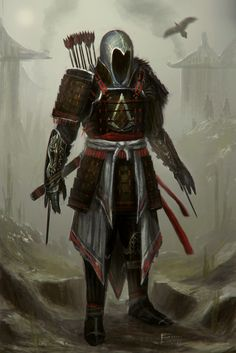 Assassins Creed Feudal Japan by ~TomEdwardsConcepts on deviantART