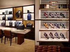 Louis Vuitton store by Peter Marino, Paris   France shoes fashion bags