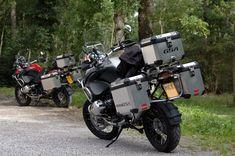 BMW R1200GS - Belgian Ardennes somewhere near Rochefort.