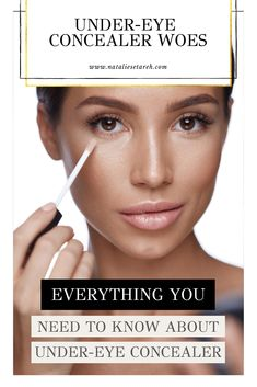 Ask Setareh: Under-Eye Concealer Woes Concealers can be one of the trickiest parts of makeup applica Concealer For Dark Circles, Under Eye Concealer, Concealer Brush, Easy Makeup Tutorial, Makeup Tutorial For Beginners, Makeup Tutorials, How To Choose Concealer, Best Makeup Tips, Makeup Hacks