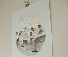 """Harbour Home"" by Sarah Burwash – Buy Some Damn Art"