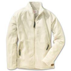 Filson WOMEN'S PATHFINDER FLEECE JACKET-Cream-Style #20054-1    Price: $180.00