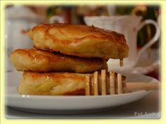 Domowa kuchnia Aniki: Racuchy drożdżowe z jabłkami wg siostry Anieli