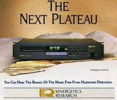 The Beauty of Music Kinergetics Digital Audio, Old Ads, Brochures, Technology, Music, Beauty, Tech, Musica, Musik