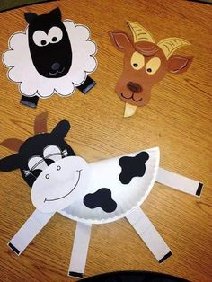 Preschool cow craft best cow craft ideas on farm animal crafts farm Farm Animal Crafts, Farm Crafts, Animal Projects, Cute Crafts, Farm Animals, Farm Activities, Animal Activities, Toddler Crafts, Crafts For Kids