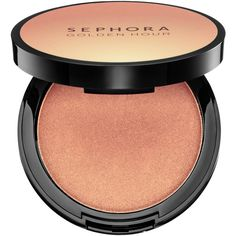 SEPHORA COLLECTION Golden Hour Highlighting Powder (960 RUB) ❤ liked on Polyvore featuring beauty products, makeup, face makeup, face powder, highlight face makeup and sephora collection