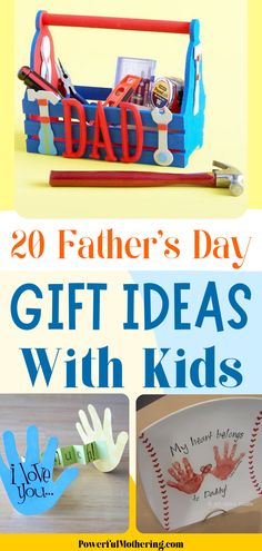 Father's day is coming faster than you think! Have no idea what to get him? Not to worry! These father's day gift ideas can save the day! Check out the blog for more details on these memorable, simple yet sweet homemade father's day gift ideas with the kids! This is for the moms out there looking to prepare something for the hubby and at the same time a bonding experience with your little ones! These DIY crafts will surely make his day a little extra special #fathersdaygift #diygifts… Kid Activities, Educational Activities, Preschool Activities, Homemade Fathers Day Gifts, Diy Gifts, Toddler Crafts, Crafts For Kids, 5 Years, Little Ones