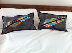 Feather Pillows by Dr. G Crafts, via Flickr