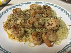 Spicy shrimp Scampi [homemade] http://ift.tt/2eqyzzC